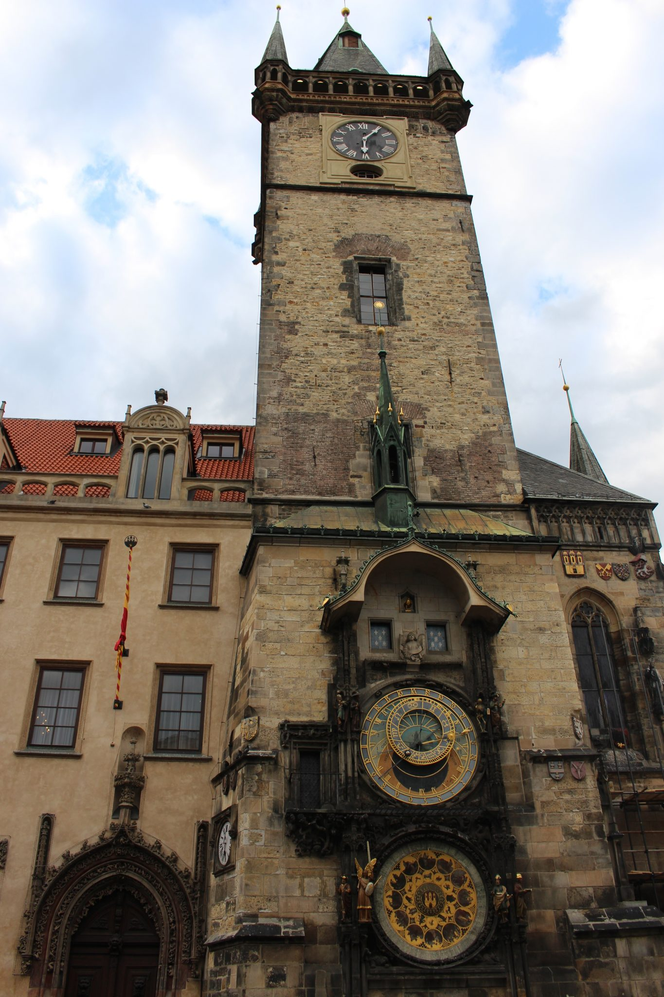 Astronomical Clock in Prague Old Town Square - top European city breaks