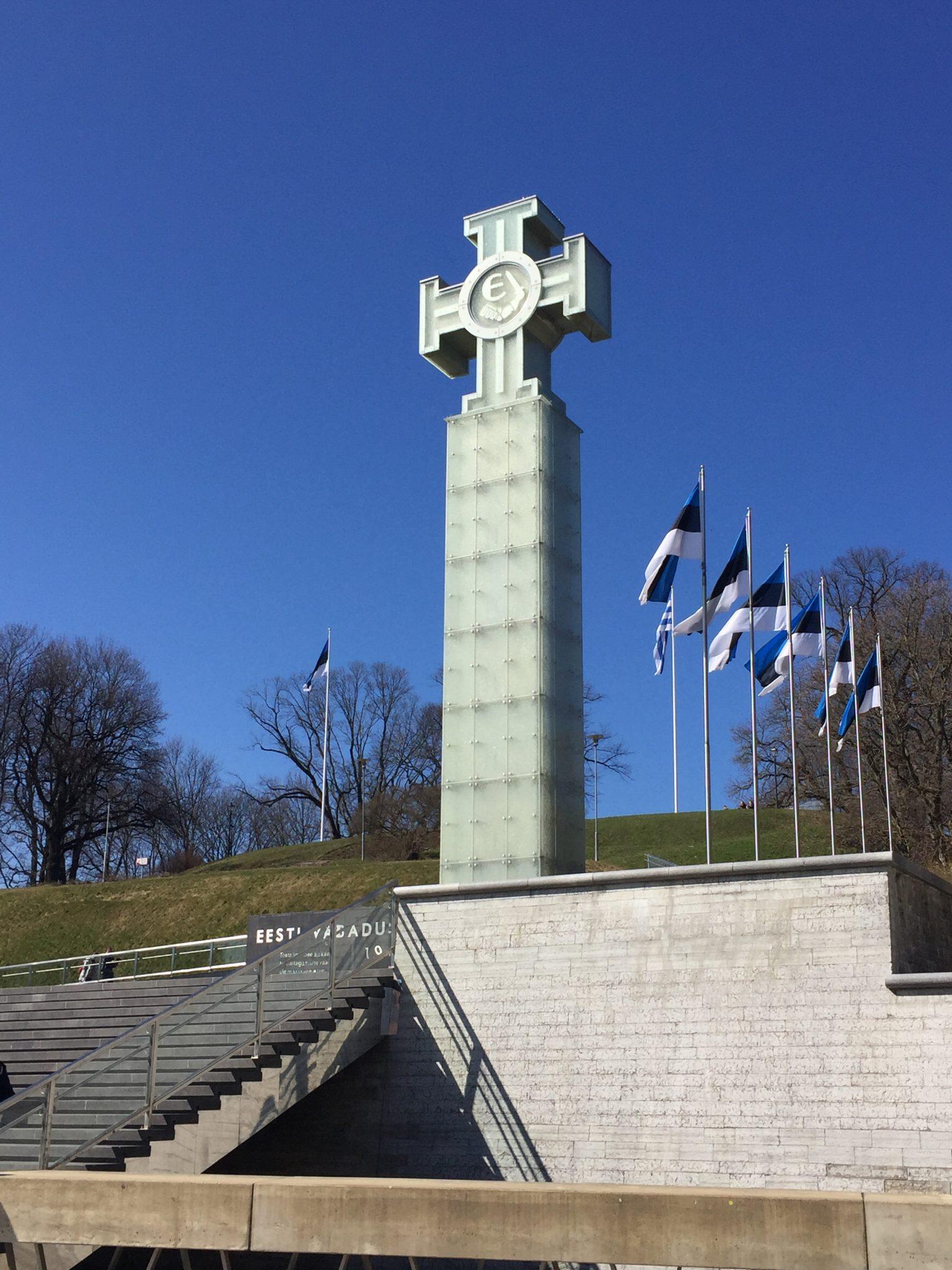 Tallinn Estonia Freedom Square