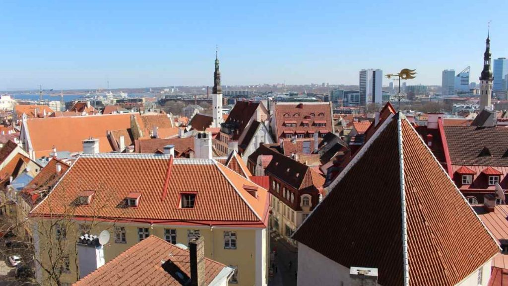 baltic travel itinerary tallinn rooftops