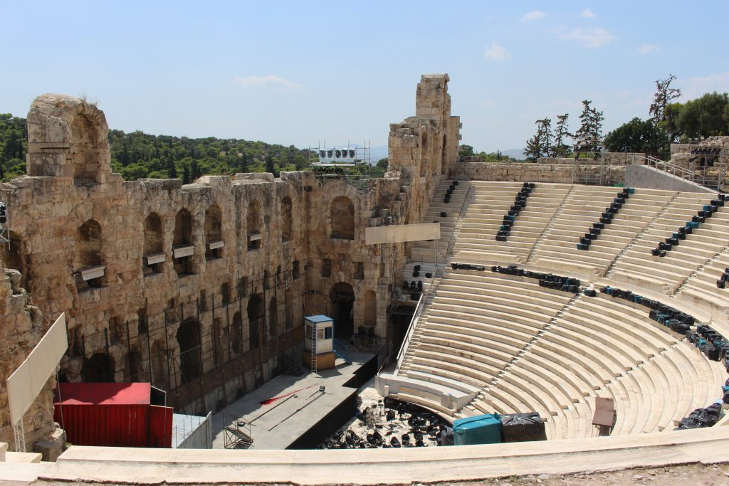 Odeon of Herodes Atticus in Athens