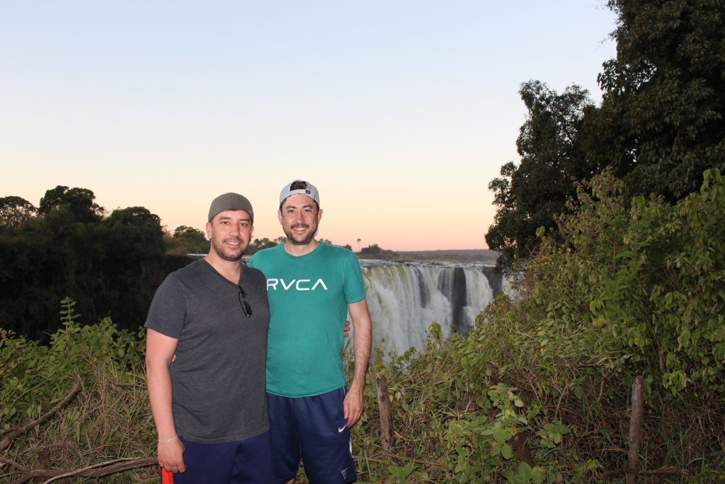 Victoria Falls Zimbabwe gay travel traveling to anti-LGBT countries
