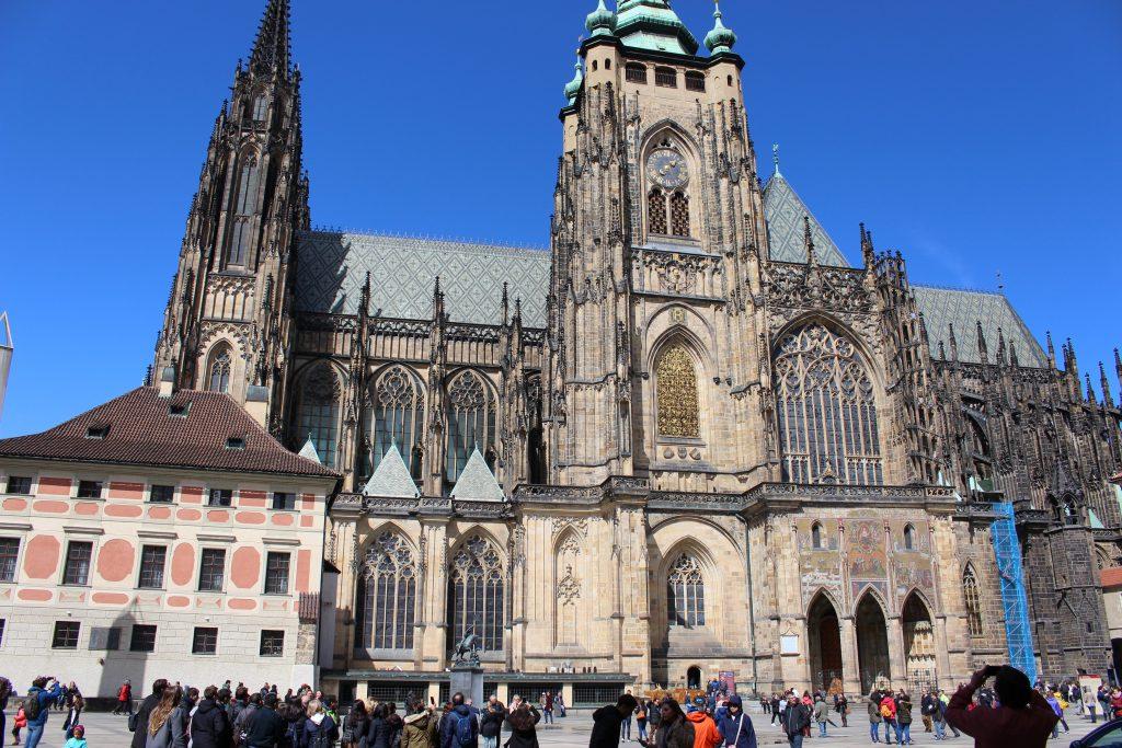 St. Vitus Cathedral Prague Castle - Small Group tour Prague Tour Reviews