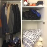 how to embrace minimalism dirty closet