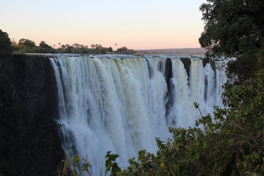 The amazing Victoria Falls, where we finished our Botswana Safari