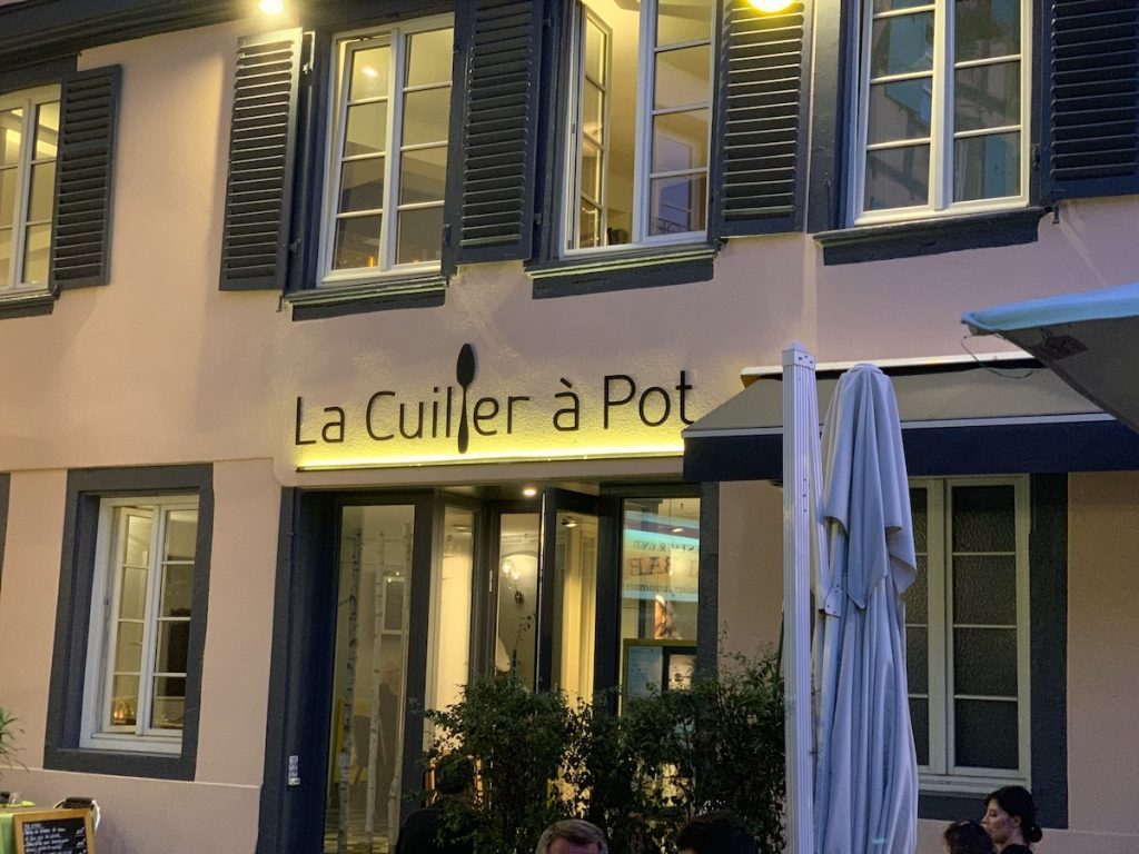 La Cuiller a Pot in Strasbourg