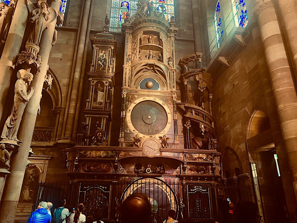 Astronomical Clock in Strasbourg Cathedral