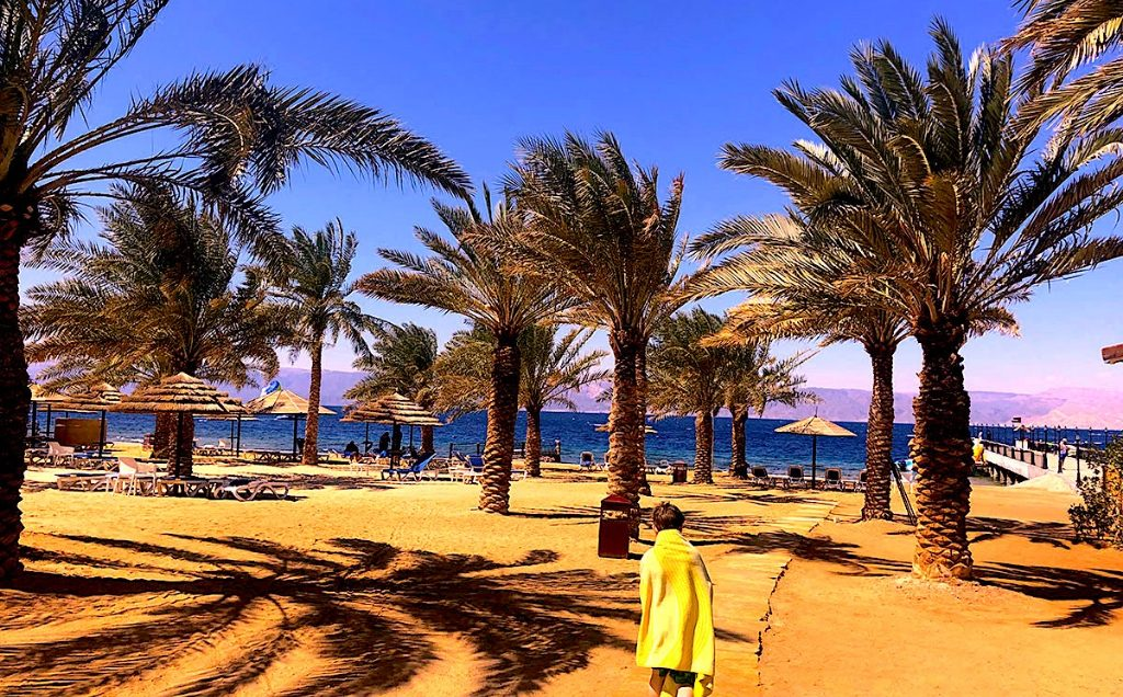 Aqaba Jordan in winter