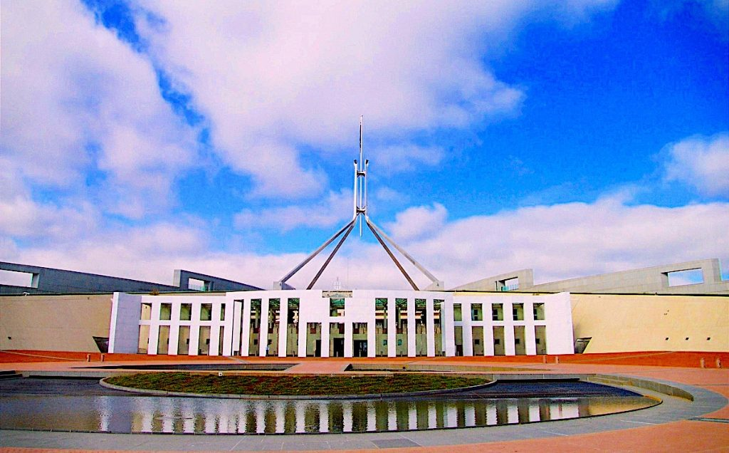 Canberra winter holiday