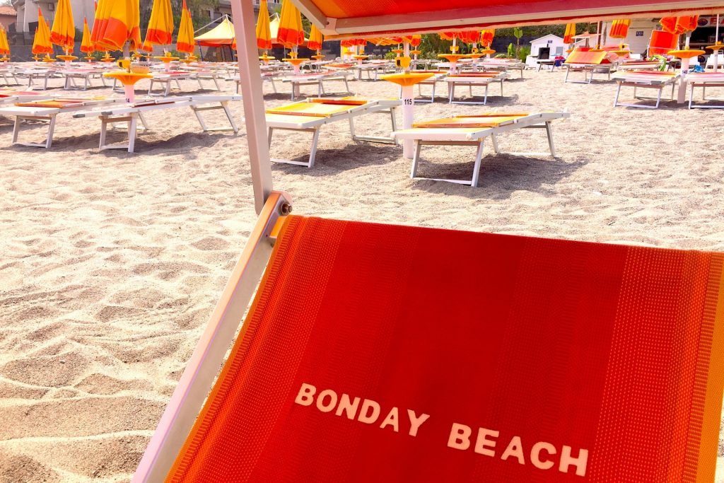Lido Bonday Beach Sicily, Italy