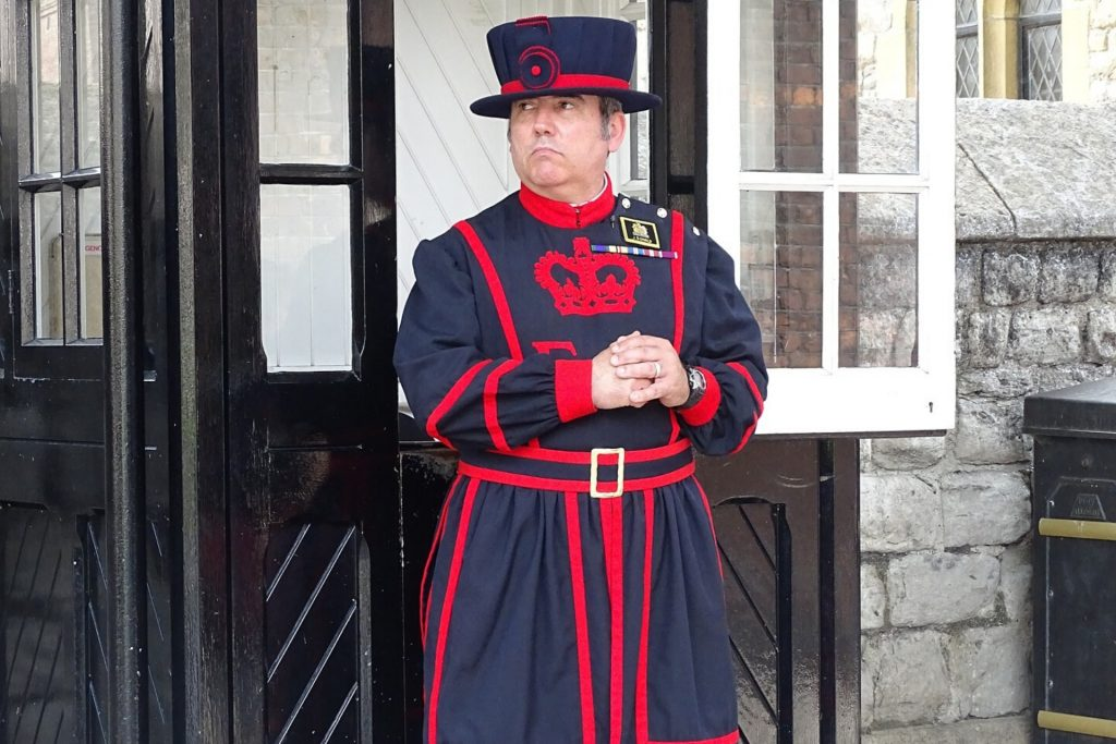 Yeoman Warder Tower of London Tour