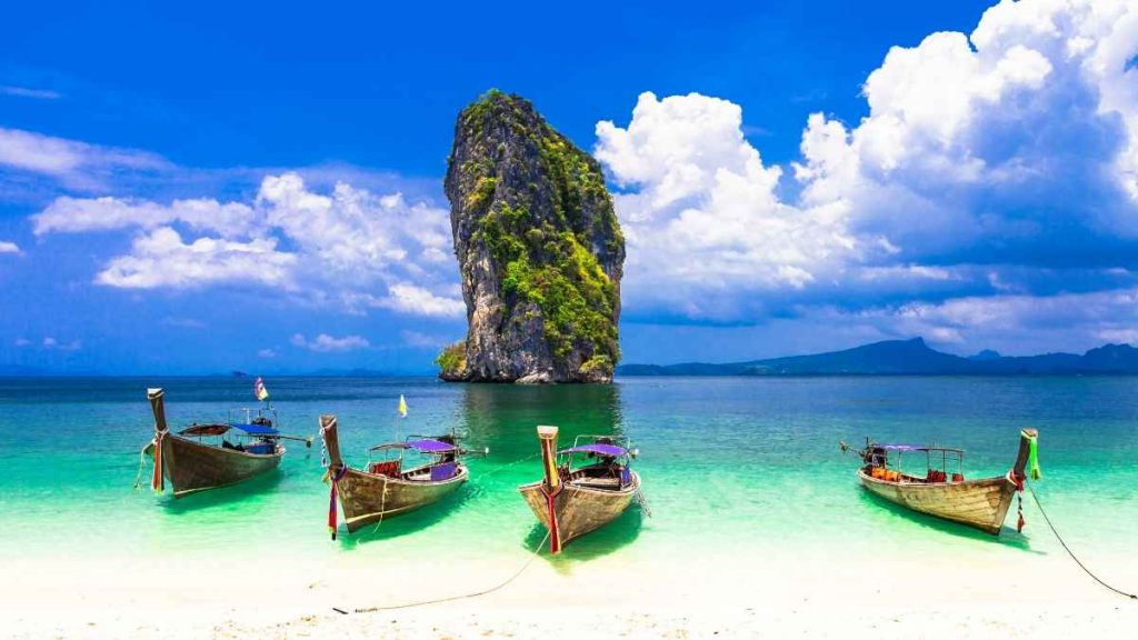 Krabi Beach Thailand Asia Travel