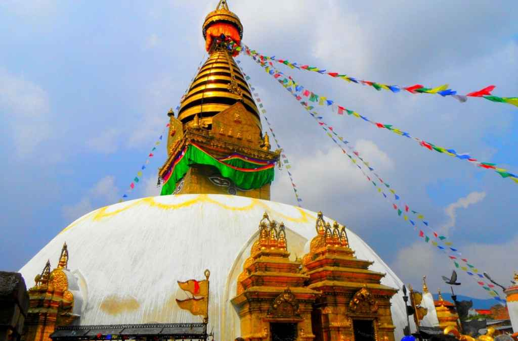 Swayambhunath Monkey Temple Nepal Travels