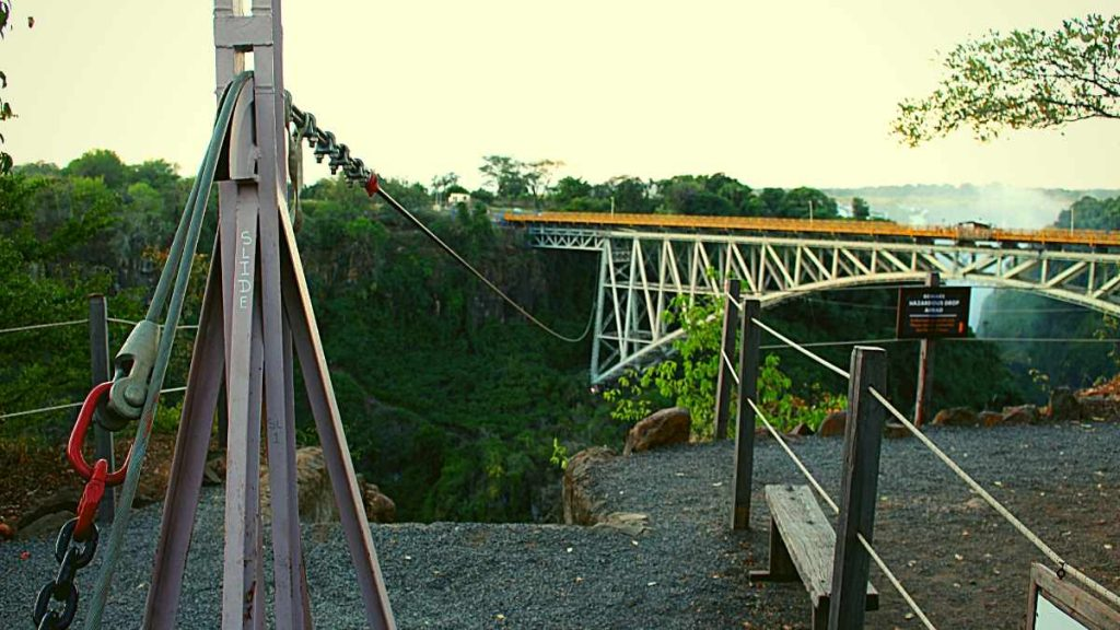 Victoria Falls Bridge Slide