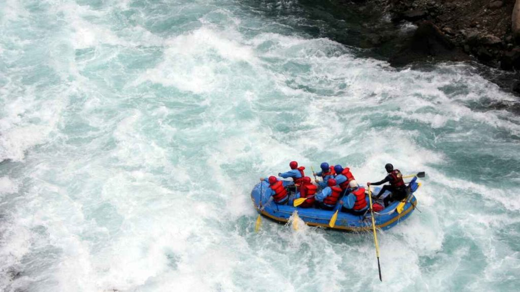 Victoria Falls activities - white water rafting