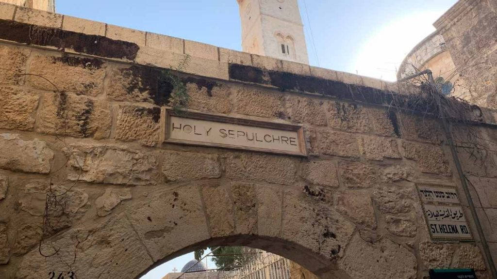 Church of the Holy Sepulchre - Jerusalem tour from Tel Aviv
