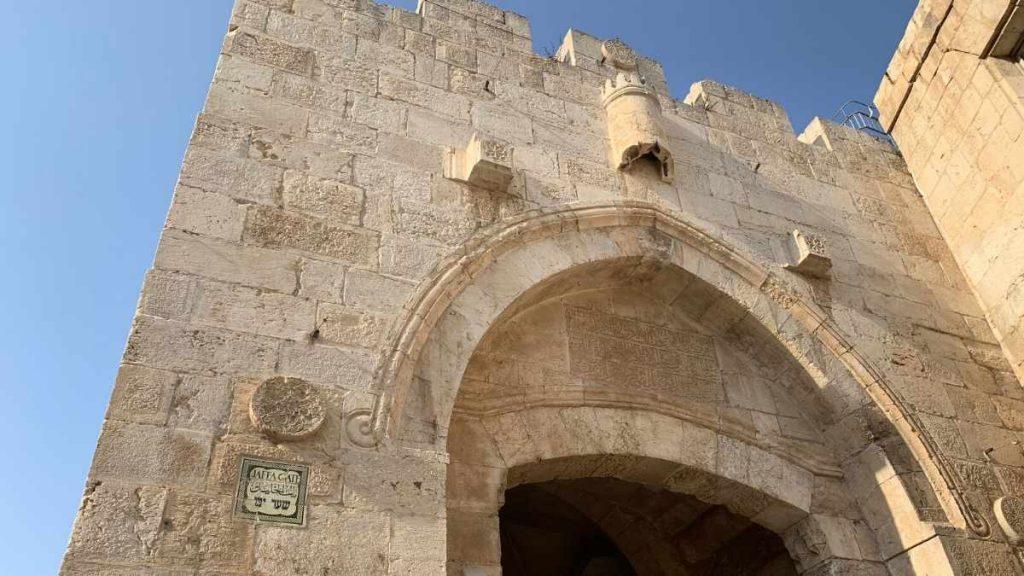 Jaffa Gate Jerusalem tours from Tel Aviv
