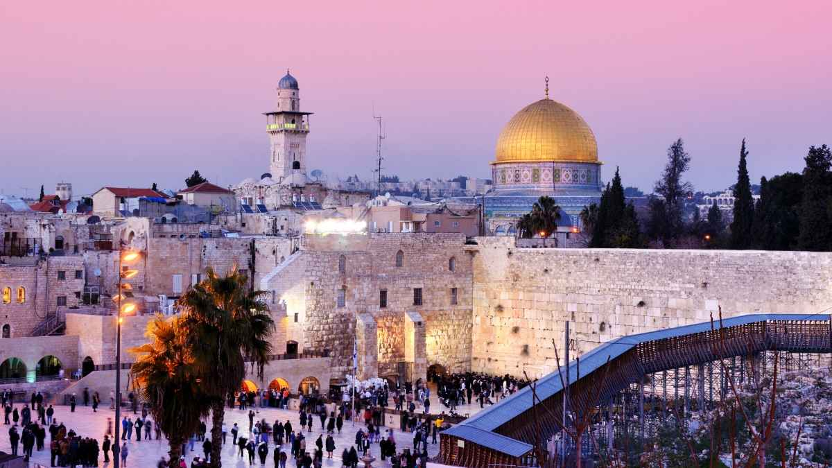Jerusalem tour from tel aviv