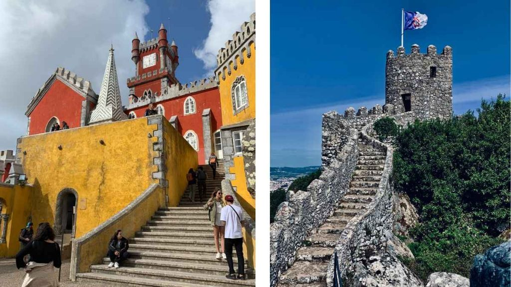Pena Palace and Moorish Castle Lisbon to Sintra Day Trip