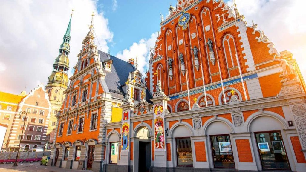 what to do in Riga - house of the blackheads