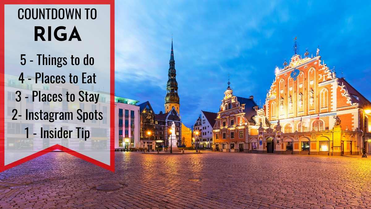 Things to do in Riga cover