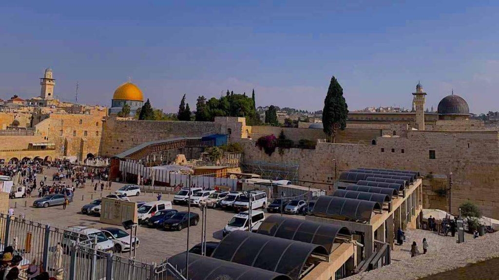 Temple Mount Jerusalem tour from Tel Aviv