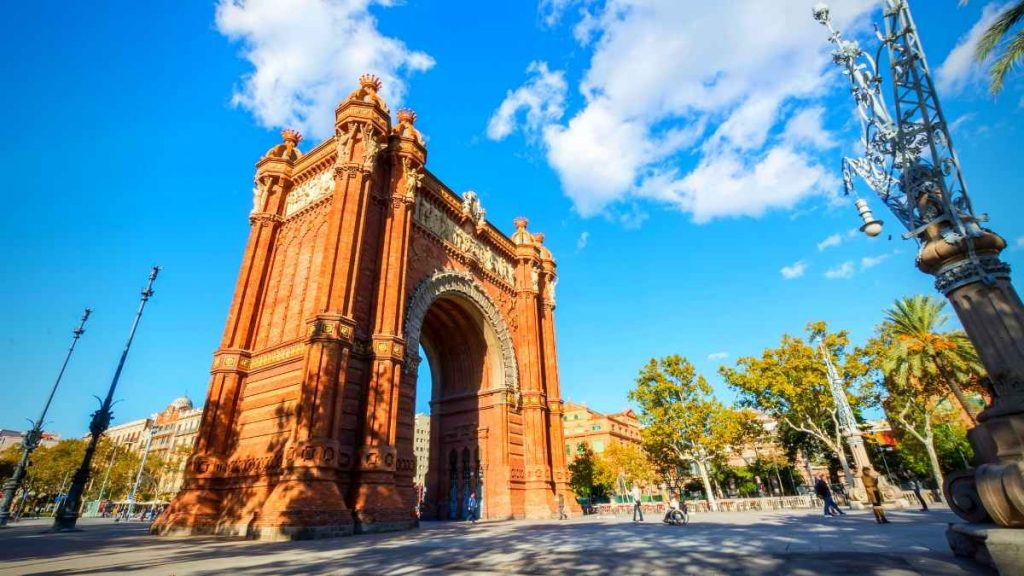 3 days in Barcelona Arc De Triomf_