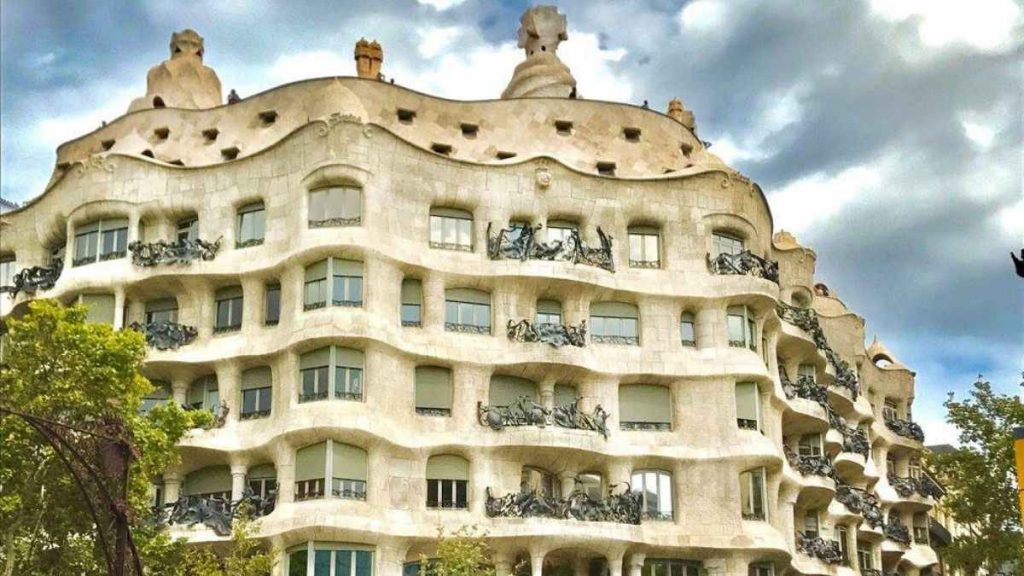 3 days in Barcelona casa mila