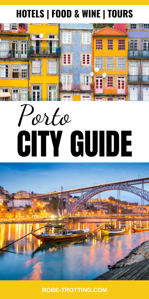 porto city guide pin