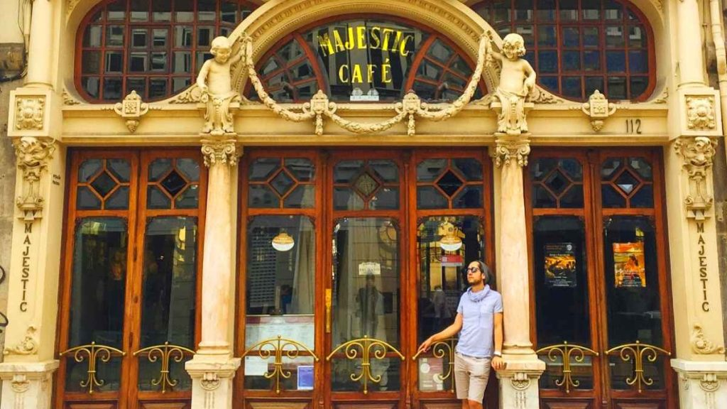 porto city break majestic cafe