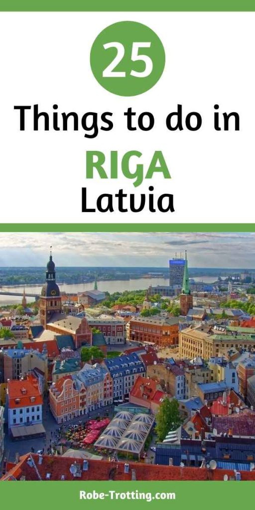 what to do in Riga pin