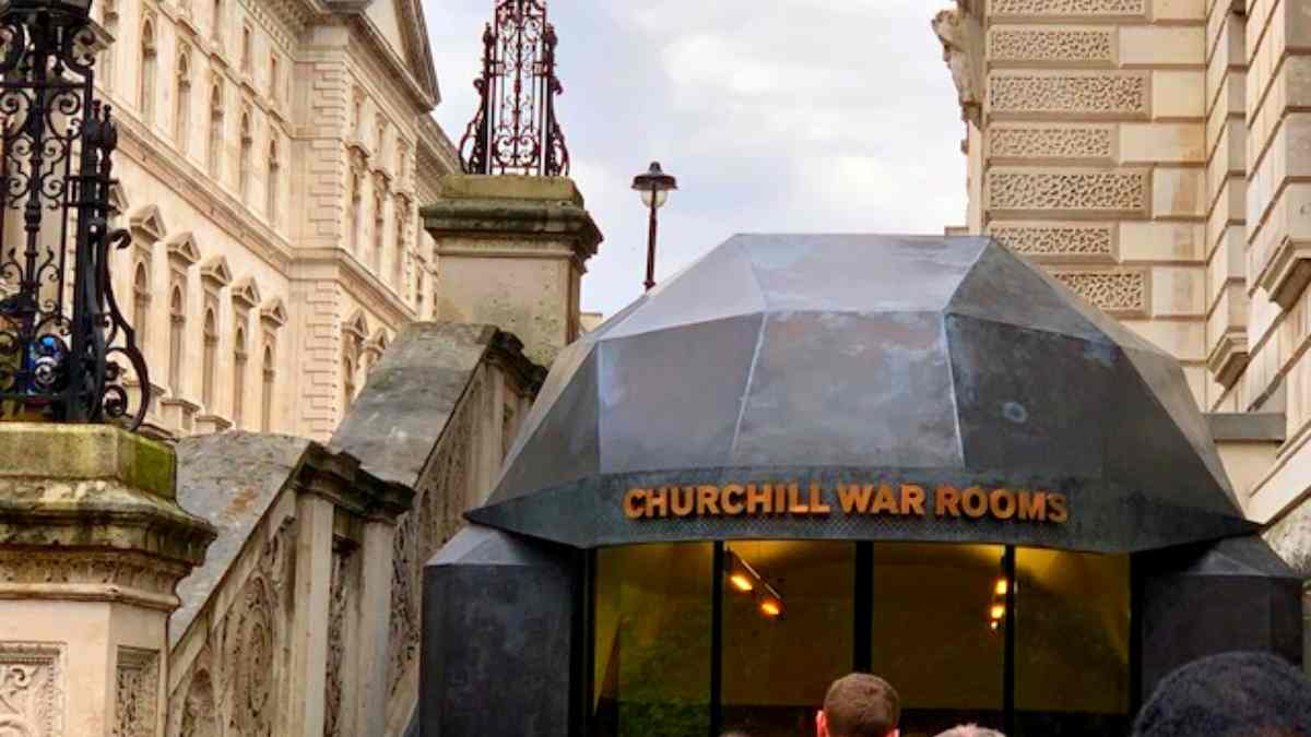 Winston Churchill's War Rooms entrance