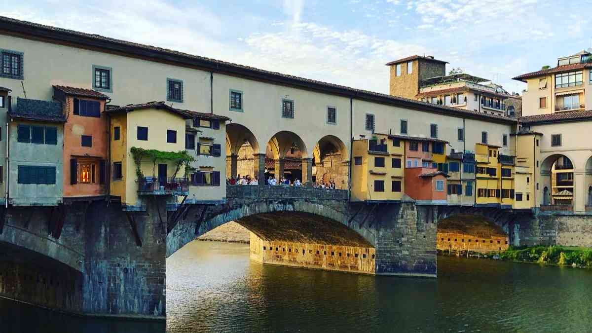 2 days in florence ponte vecchio