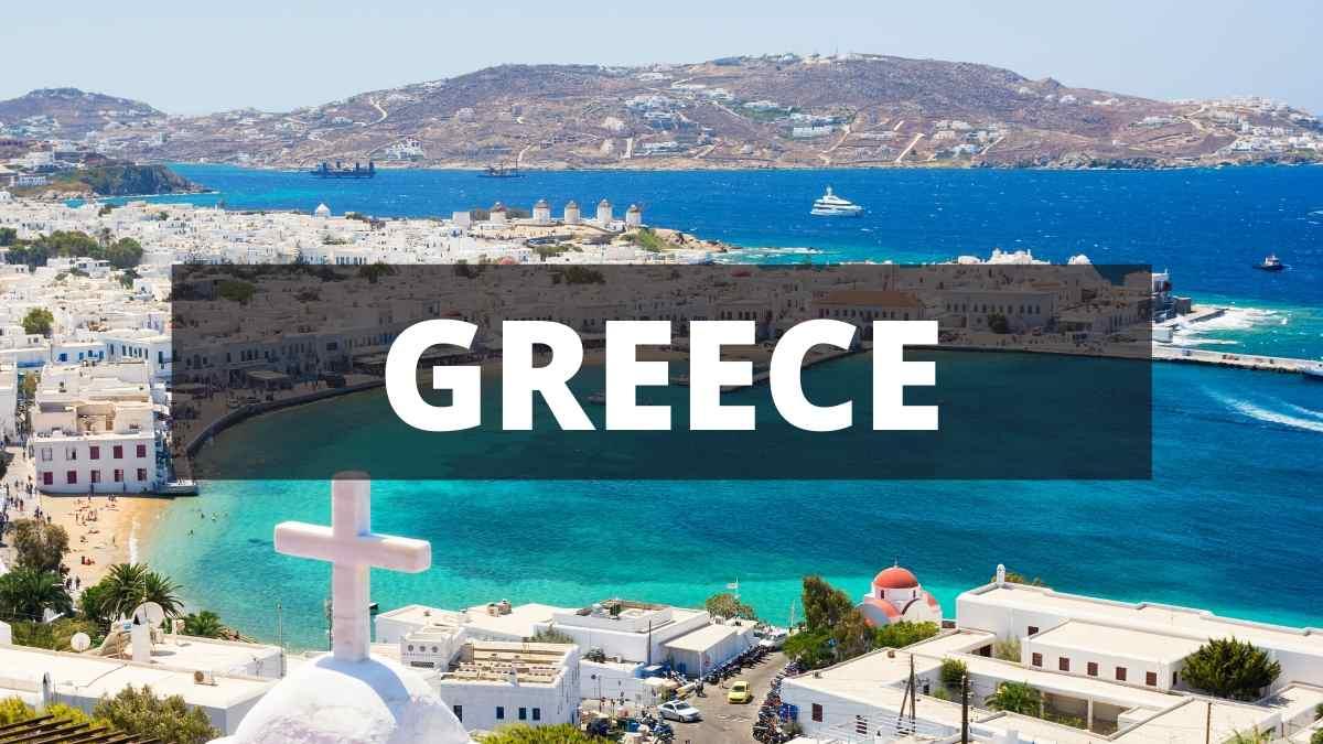 Greece trip planner