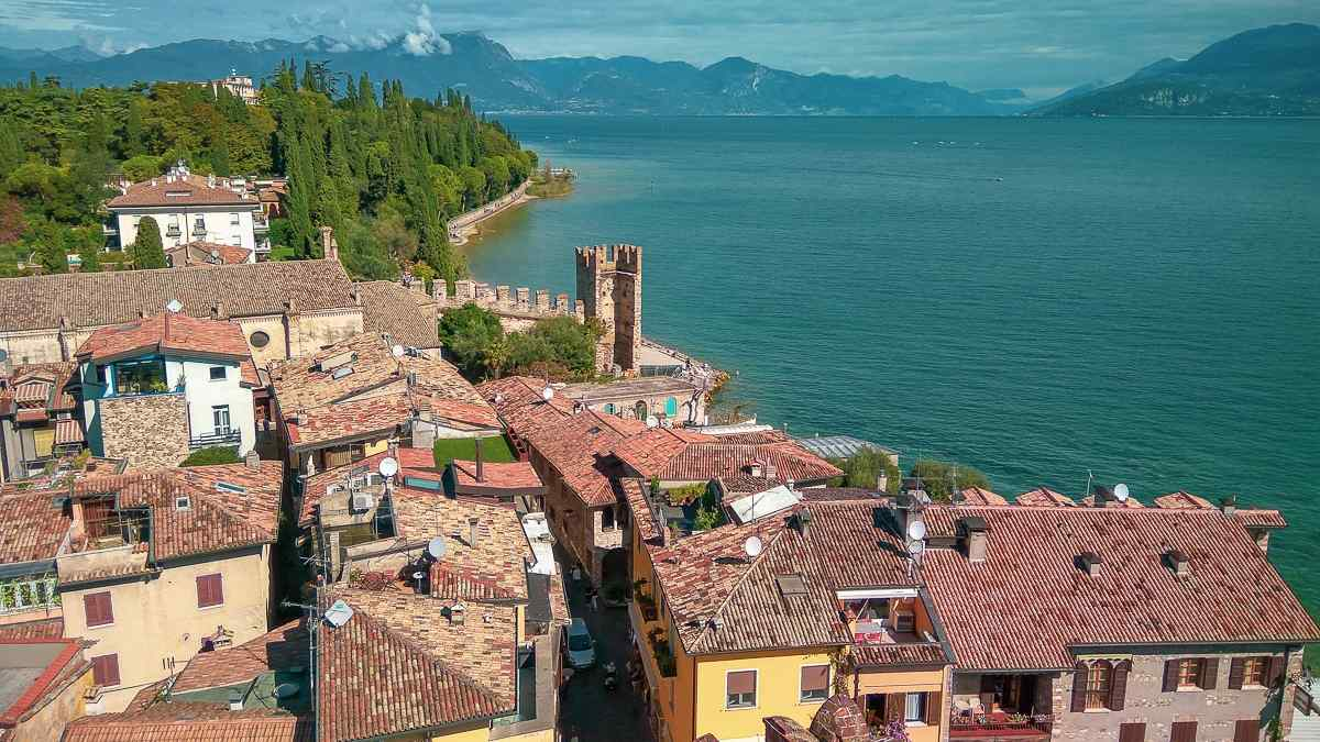 best places to visit in europe in october lake garda italy