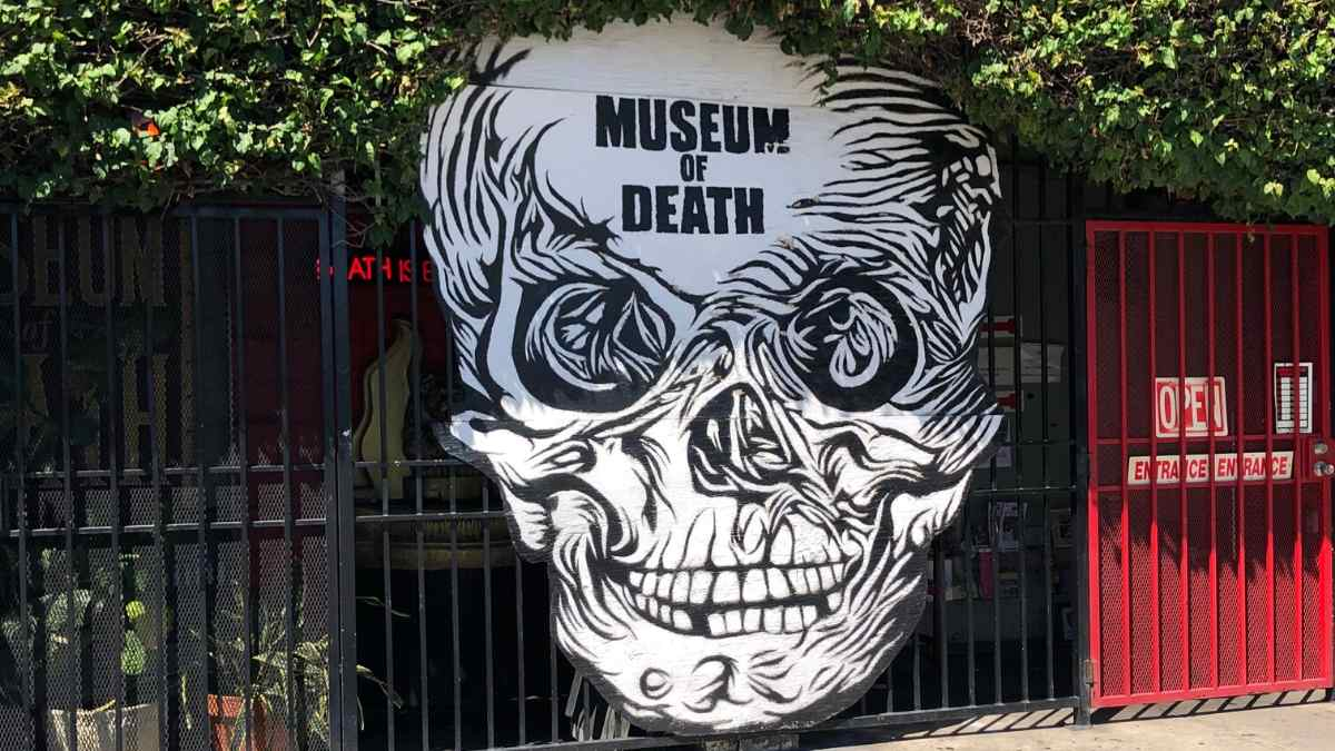 hidden gems in los angeles the museum of death