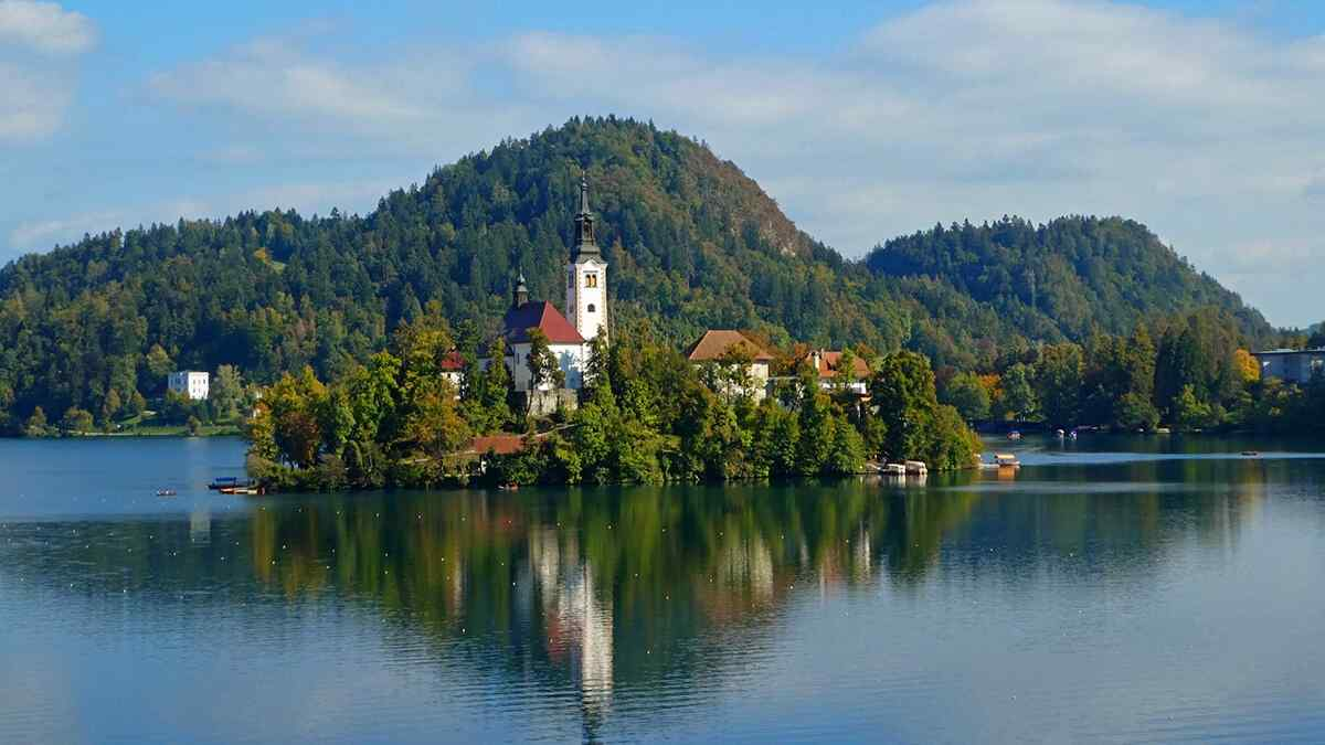 october in europe lake bled