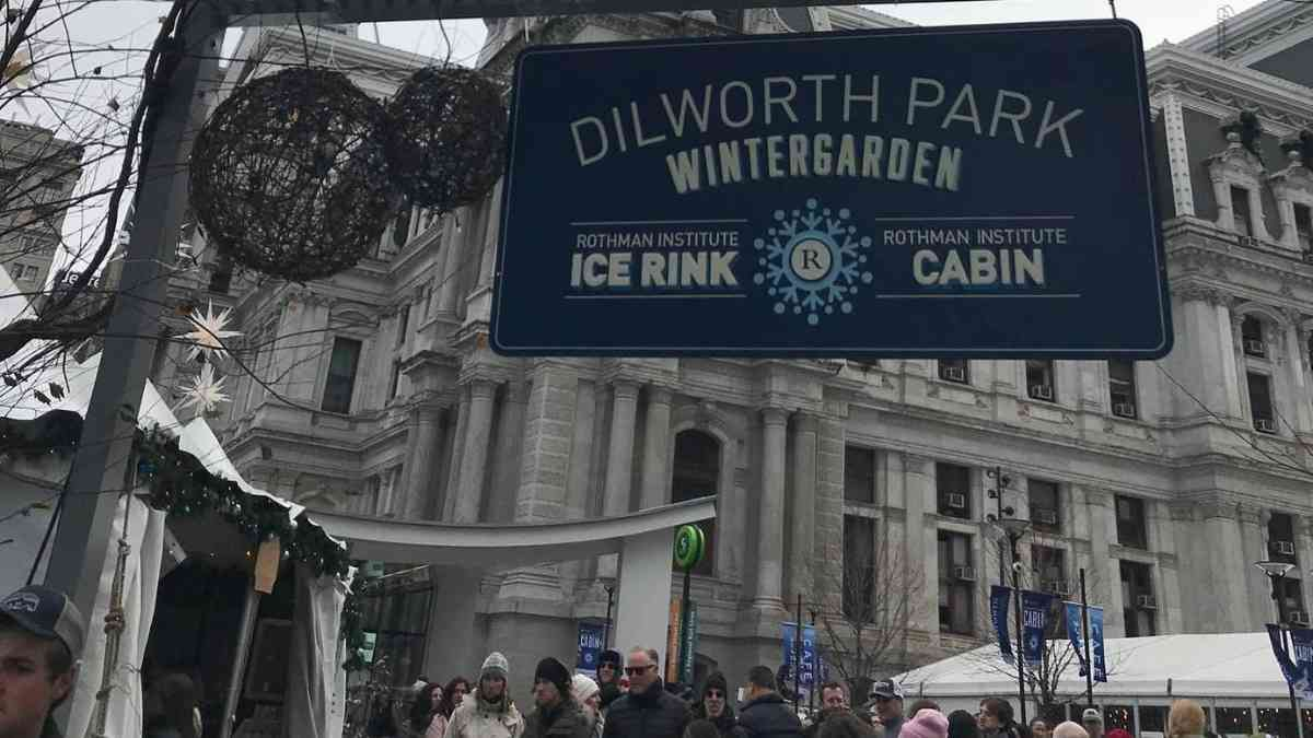 Christmas in Philadelphia dilworth park