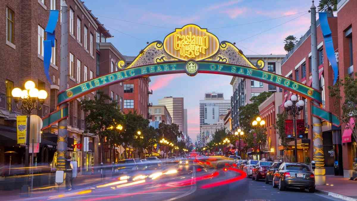 plan a trip to san diego itinerary gaslamp district