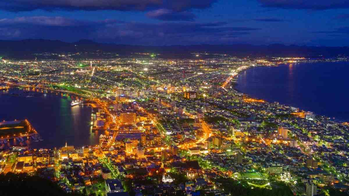 hakodate night view things to do in japan bucket list