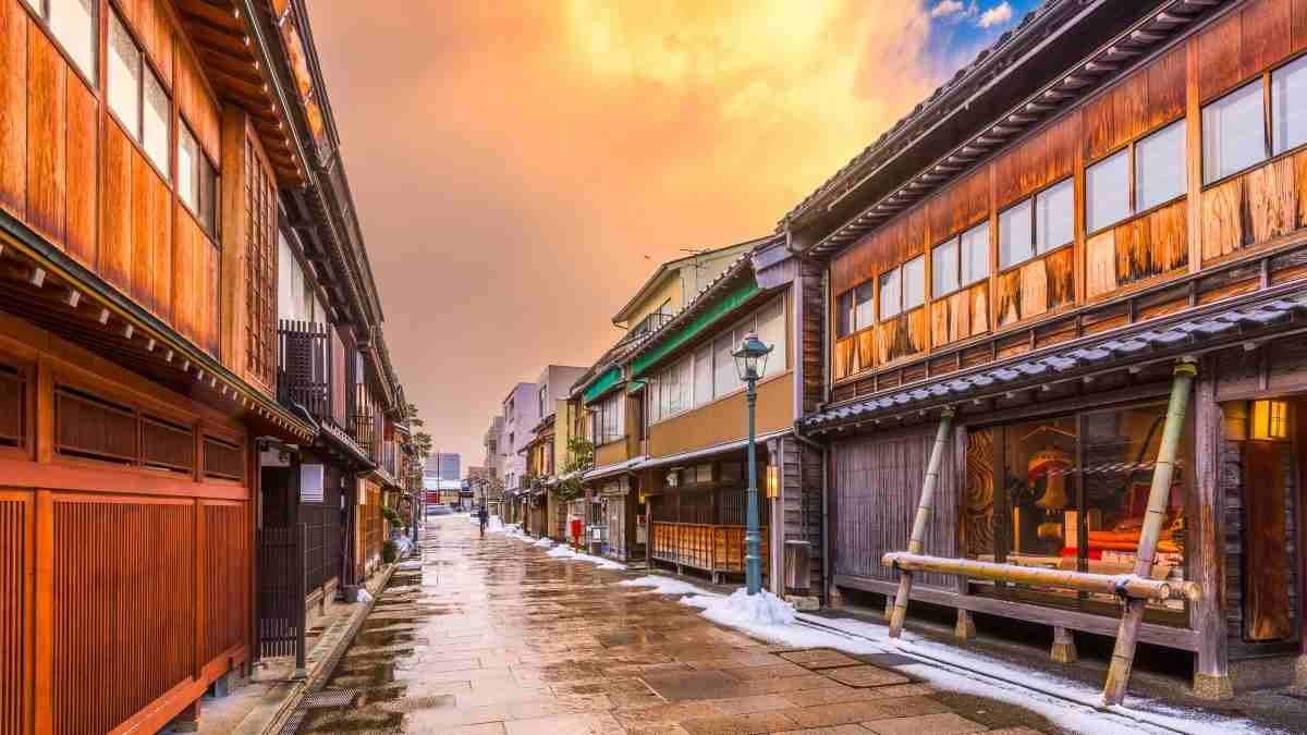 Kanazawa Japan things to do in Japan bucket list