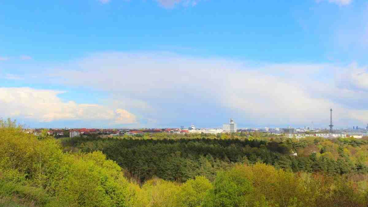 vies from teufelsberg berlin