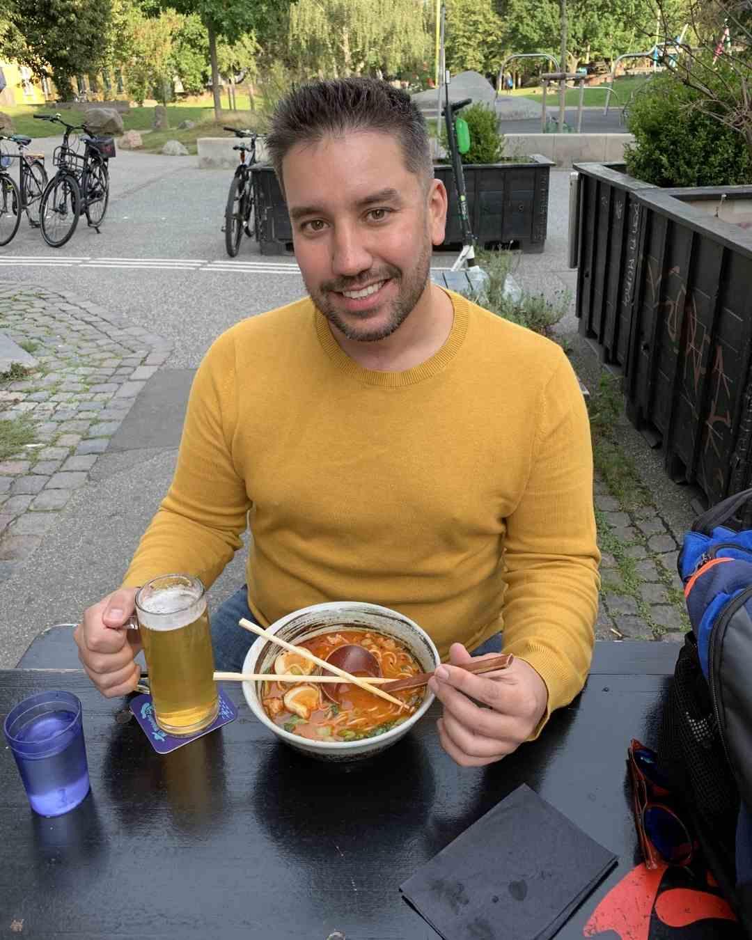 restaurant copenhagen cost of living