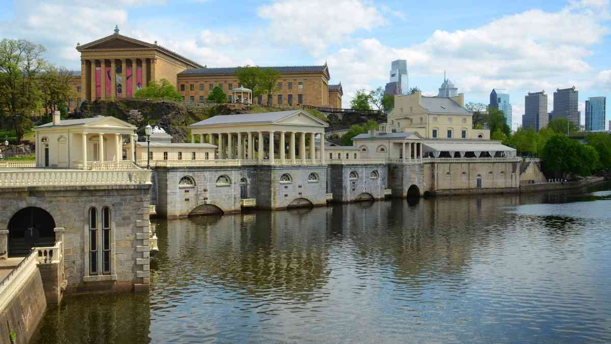 philadelphia waterworks historical sites
