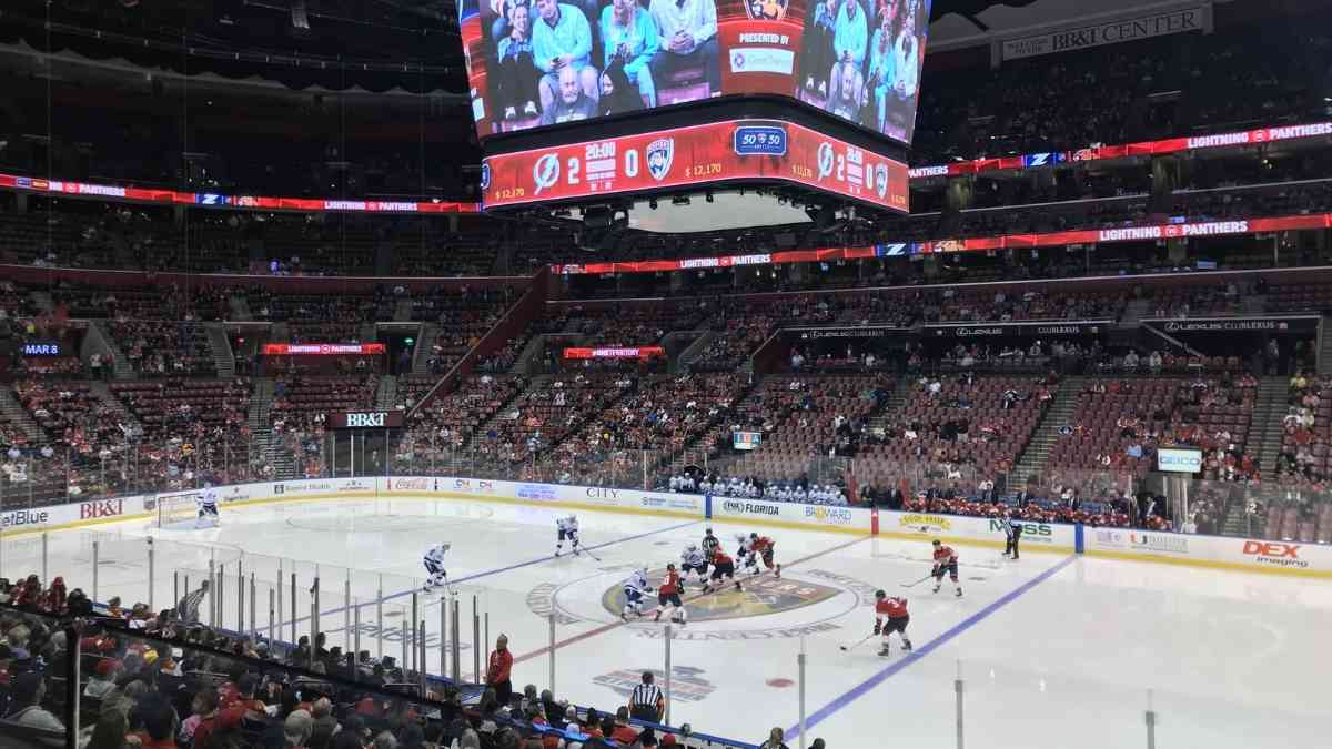 best nhl cities to visit miami florida panthers