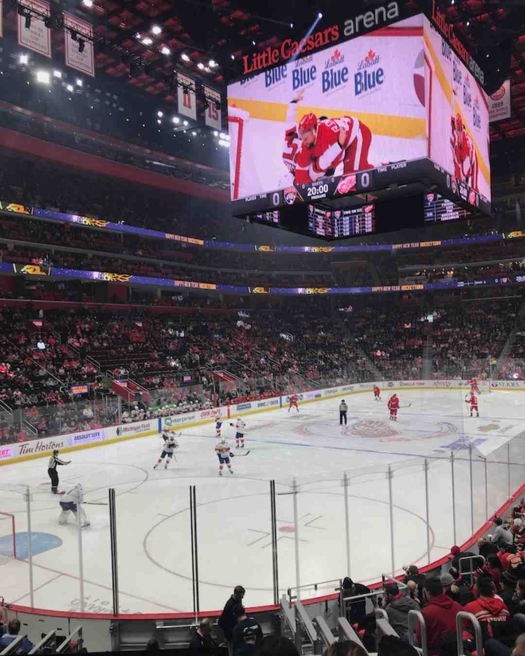 best nhl cities to visit detroit red wings