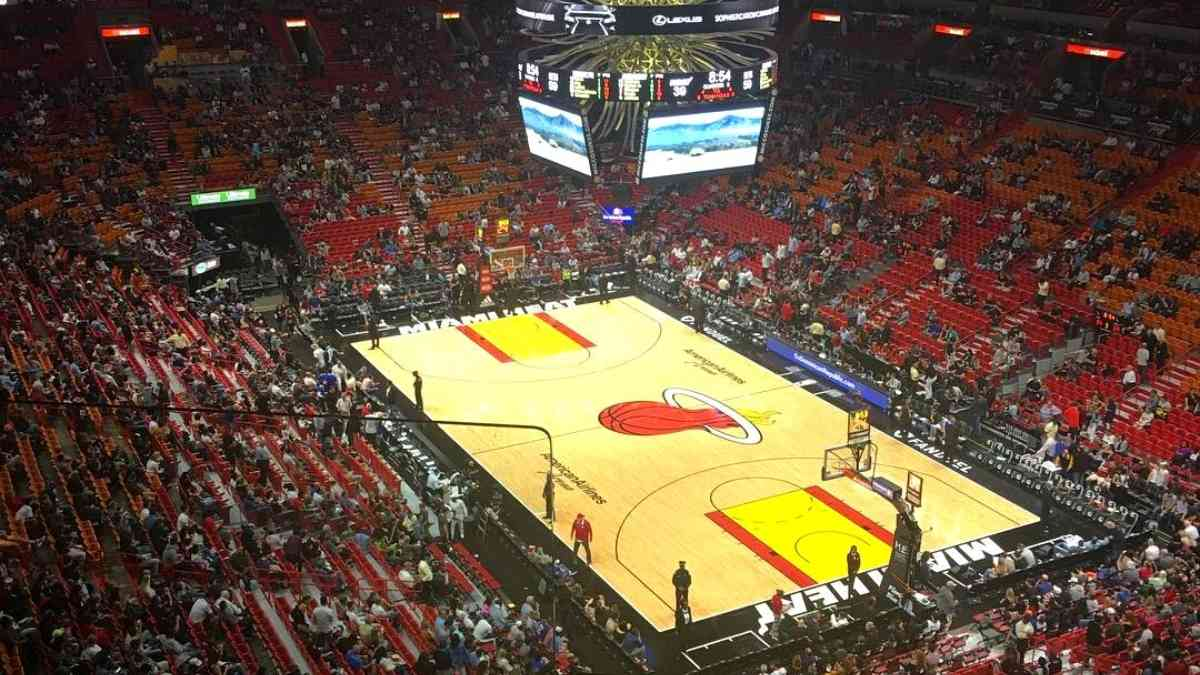 nba cities to visit american airlines arean miami heat