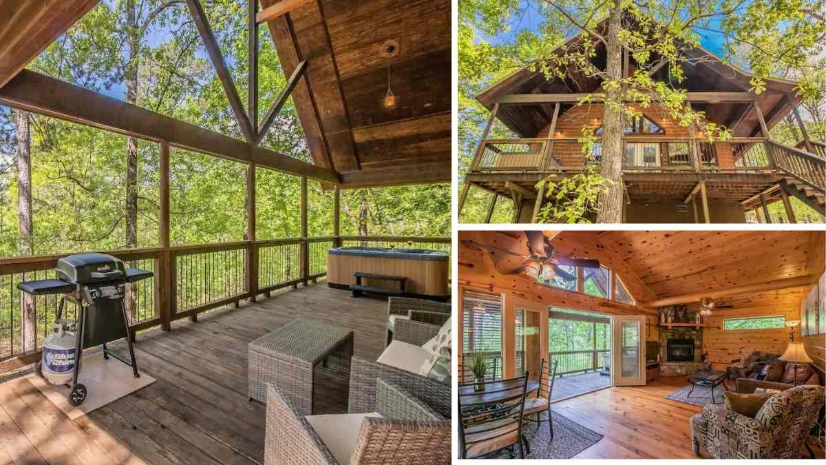 Broken Bow Cabin Couples Treehouse