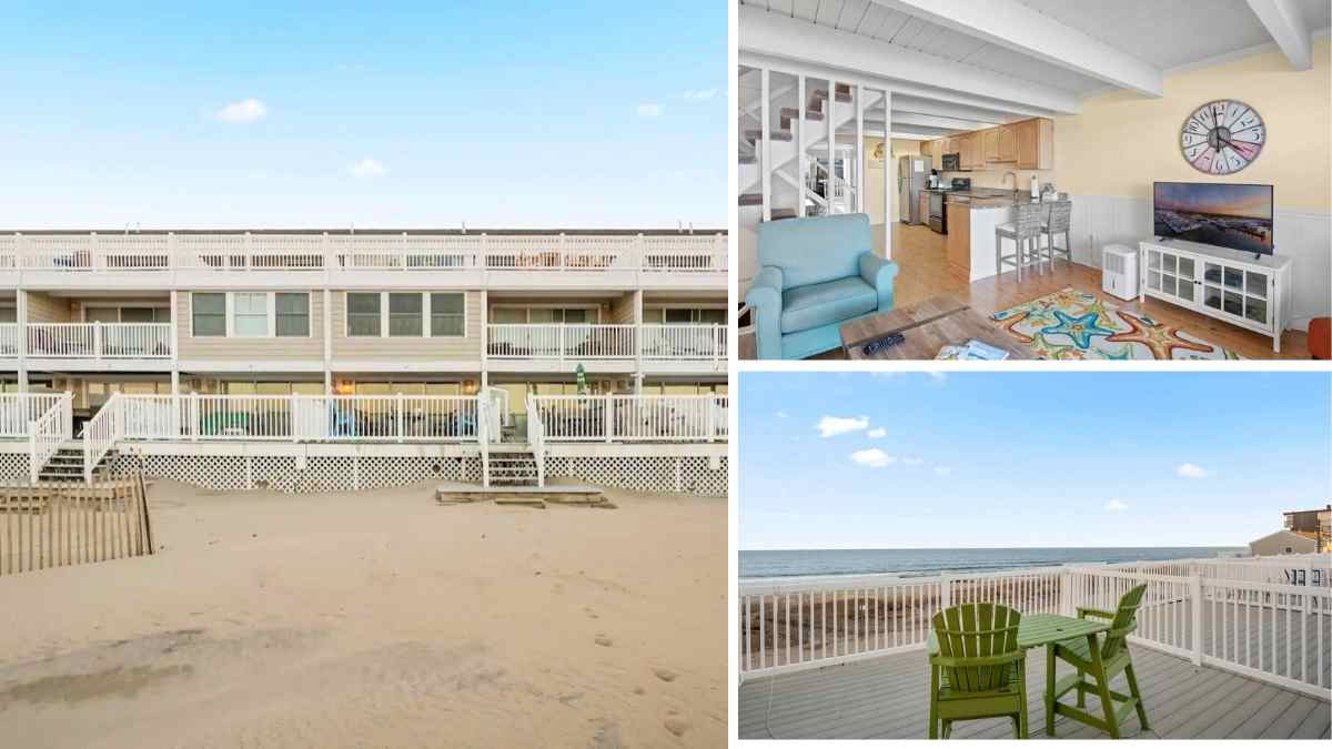Ocean city maryland airbnb group house