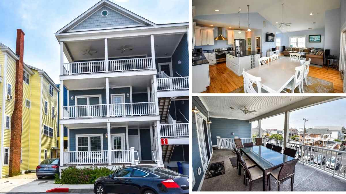 Ocean city maryland townhouse airbnb