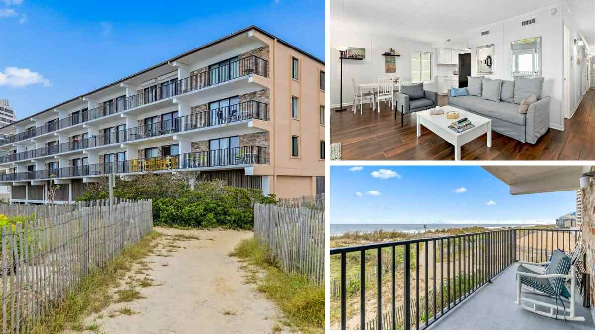 Ocean city maryland oceanfront airbnb